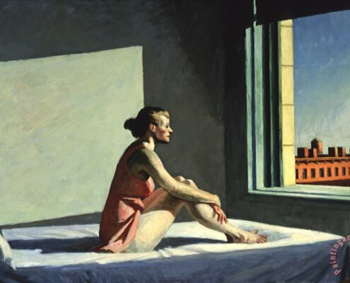 Morning Sun, by Edward Hopper