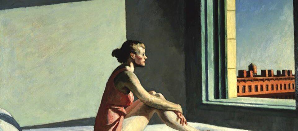 Morning Sun, by Edward Hopper